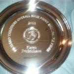 2011 Theodore Overall Endurance Award