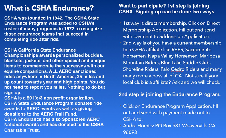 What is the Endurance program?