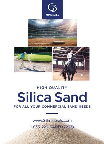 G3 Minerals Equestrian Sand