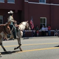 Miss CSHA leads parade